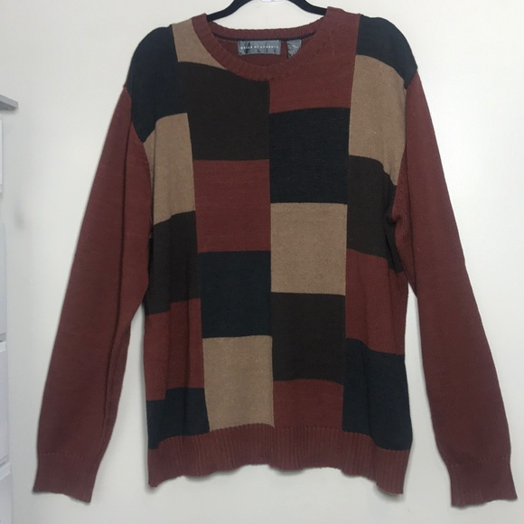 Oscar De La Renta Sweaters Mens Sweater Xl Poshmark